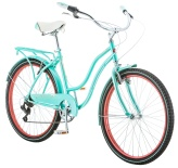 "Велосипед Schwinn 2018 Perla 7sp 26"" Light Blue/Red"