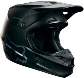 Мотошлем подростковый Fox V1 Matte Black Youth Helmet Matte Black M