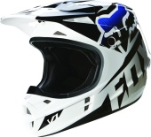 Мотошлем Fox V1 Race Helmet Black XL