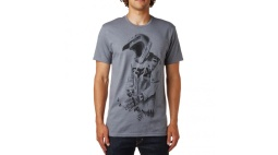Футболка Fox Death By Momentum SS Tee Heather Graphite