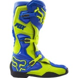 Мотоботы Fox Comp 8 Boot Blue/Yellow 12