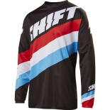 Мотоджерси Shift White Tarmac Jersey Black