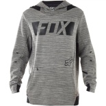 Толстовка Fox Flexair Libra Pullover Fleece Heather Grey