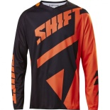 Мотоджерси Shift Black Mainline Jersey Black/Orange