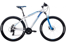"Велосипед Merida Big.Seven 10-MD 27.5"" Silver/BlueDecal (2020)"