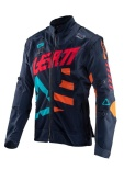 Мотокуртка Leatt GPX 4.5 X-Flow Jacket Ink/Blue