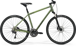 Велосипед Merida (2021) Crossway 300 Рама:L(55cm) MattFogGreen/DarkGreen (6110882732)