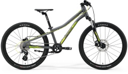 Велосипед Merida 2021 MATTS J.24 MATT COOL GREY(GREEN/YELLOW)