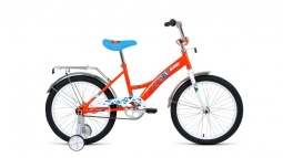 Велосипед FORWARD ALTAIR KIDS 20 белый\синий 13""