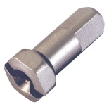 Ниппель DT Swiss латунь 2.0 x 12mm Hexagonal