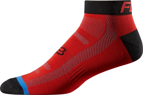 Носки Fox Race 2-inch Socks Red/Black S/M
