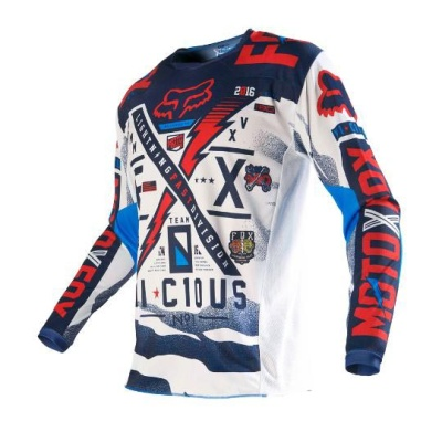 Мотоджерси Fox 180 Vicious Jersey Blue/White XL