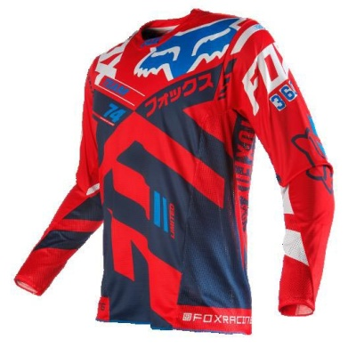 Мотоджерси Fox 360 Divizion Jersey Red L