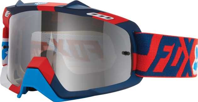 Очки Fox Air Space Divizion-Spark Red-Blue/Spark Chrome