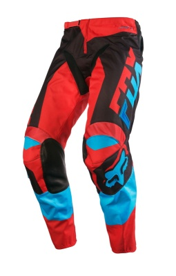 Мотоштаны Fox 180 Mako Pant Blue/Red
