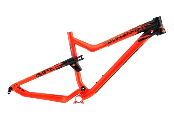Рама Commencal VIP META TRAIL (RS MONARCH) L BLACK ORANGE