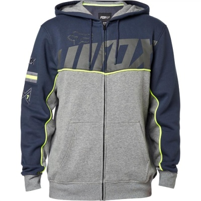 Толстовка Fox Aggrezzor Zip Fleece Pewter