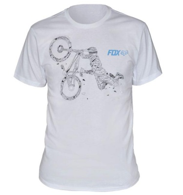 Футболка Fox Big Bend SS Tee Optic White