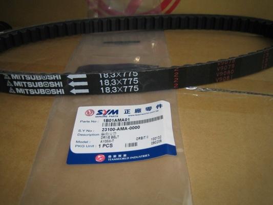 Ремень вариатора 766x18.3x28 SYMPHONY50SR, JET4_50  1B01AMA01: купить в Москве, цены