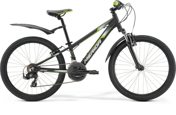 "Велосипед Merida 2017 Matts J24 Marathon Колесо:24"" Black/Green/White"
