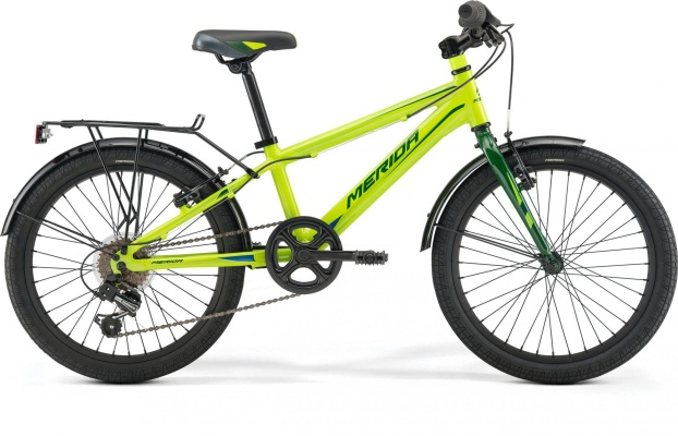 Велосипед Merida Spider J20  One Size 2019  Green/DarkGreen