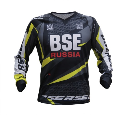Мотоджерси BSE Russia Team 2019 Yellow Edition