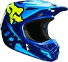 Мотошлем Fox V1 Race Helmet (Мотошлем Fox V1 Race Helmet Blue/Yellow L )