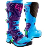 Мотоботы Fox Comp 5 Special Edition Boot Blue 12